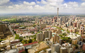 City view of Gauteng